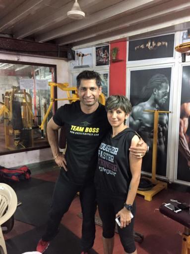 With Harry Sandhu
